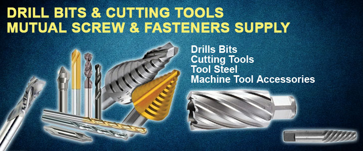 Mutualscrews Drill bits and cutting tools