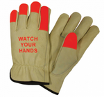 Keystone Thumb West Chester 995K Standard Grain Cowhide Leather Driver Work Gloves Large 12 Pairs 995K//L