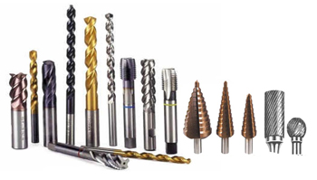 Various Types and Shapes of drill Bits