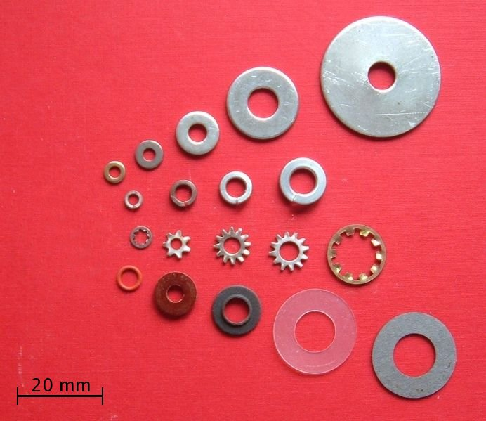 various Types of Copper Flat Washers