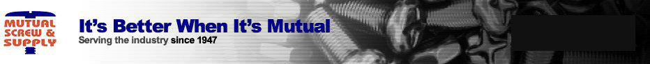 Metric Fasteners & Tools - Mutual Screw & Supply