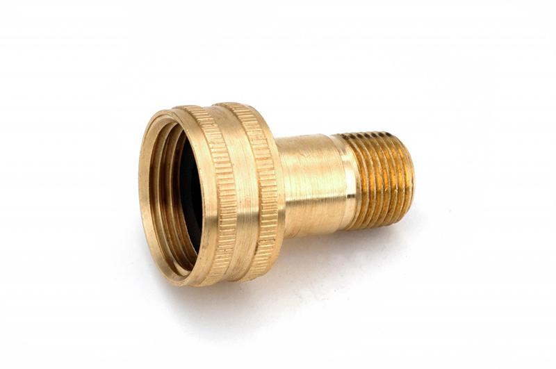 Brass garden hose swivel fittings mutual screw supply