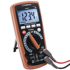 Southwire Auto-Ranging Multimeter, True RMS, Waterproof