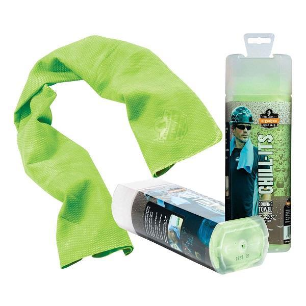 Ergodyne® Chill-Its® Evaporative Cooling Towel, Lime