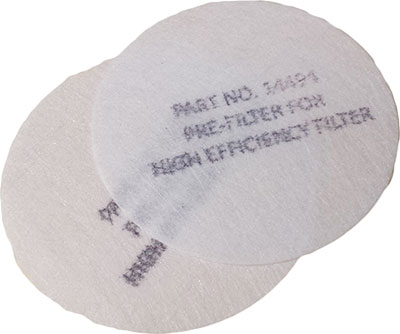 Dentec Safety P100 Pre-Filters - 24 Pack
