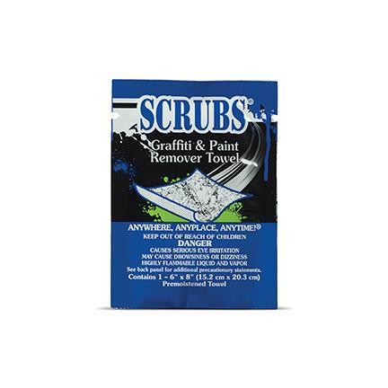Scrubs® Graffiti & Spray Paint Remover Towels 1 Towel Pack