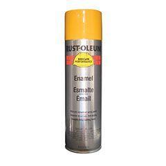 rust oleum 209715 caterpillar yellow farm equipment spray. Black Bedroom Furniture Sets. Home Design Ideas