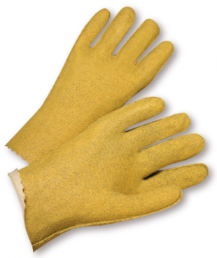 West Chester Vinyl Coated Jersey Lined Seams Out Gloves