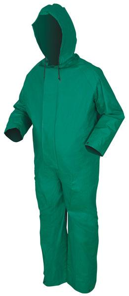 MCR Safety Dominator .42mm PVC/Polyester Acid Rain Coverall