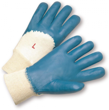 West Chester Heavyweight Nitrile Palm Coated Jersey Knit Gloves