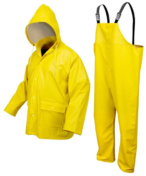 MCR Safety Navigator .40mm Polyurethane/Knitted Polyester Rain Suit