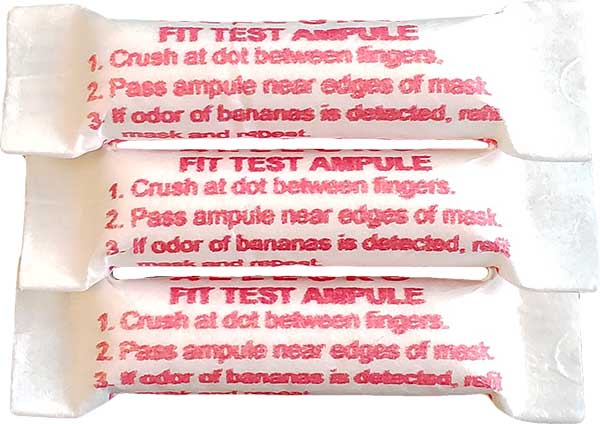 Dentec Safety Qualitative Fit Test Ampules - Banana Oil (IAA)