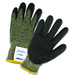 West Chester PosiGrip™ Black Foam Nitrile Palm Coated Aramid/Polyamide Gloves