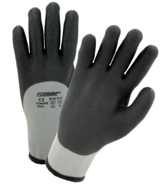 West Chester PosiGrip™ 15 Gauge Shell/10 Gauge Liner 3/4 Dipped Water Resistant Gloves