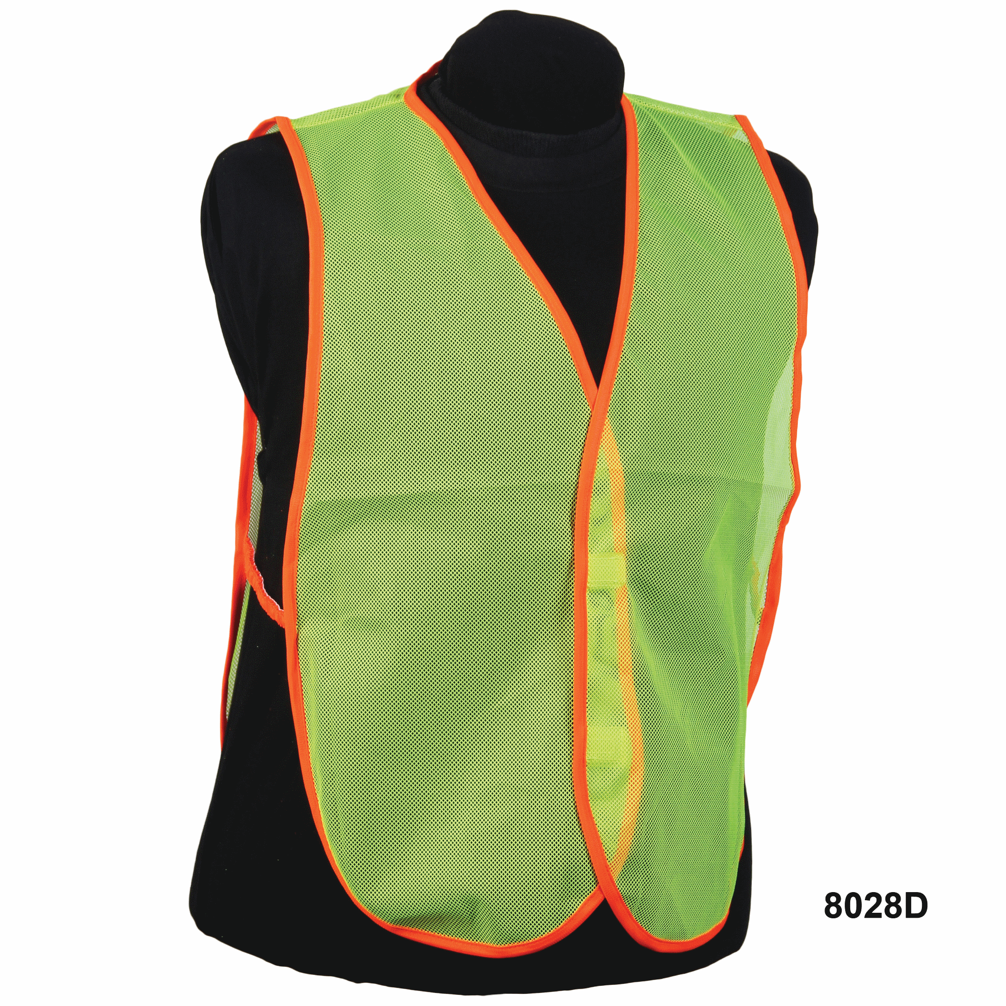 Nylon Lime Mesh Vest without Stripe
