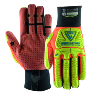 West Chester R2 Red/Yellow Rig Runner High Dexterity Gloves