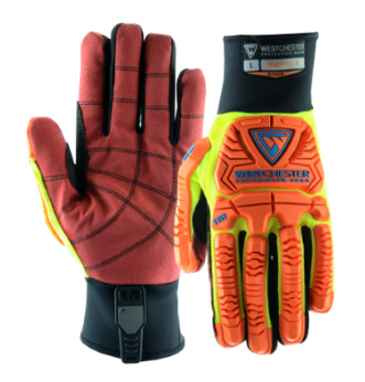 West Chester Synthetic Leather R2 Rig Cat 2 Cut Resistant Gloves