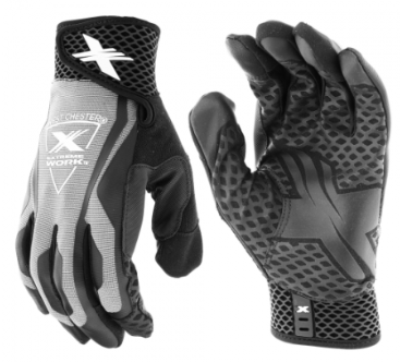 West Chester Extreme Work™ Gray LocX-On™ Grip High Dexterity Gloves