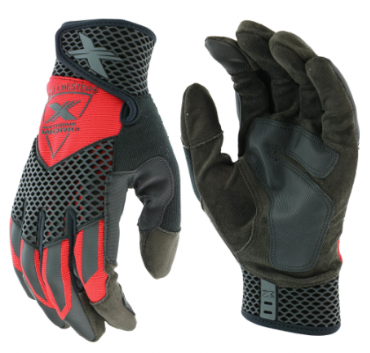 West Chester Extreme Work™ Red Knuckle KnoX™ High Dexterity Gloves