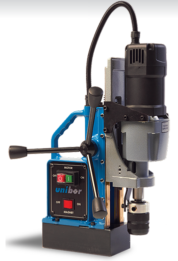 Unibor EQ50/E40FR Reversible Electric Mag Drill