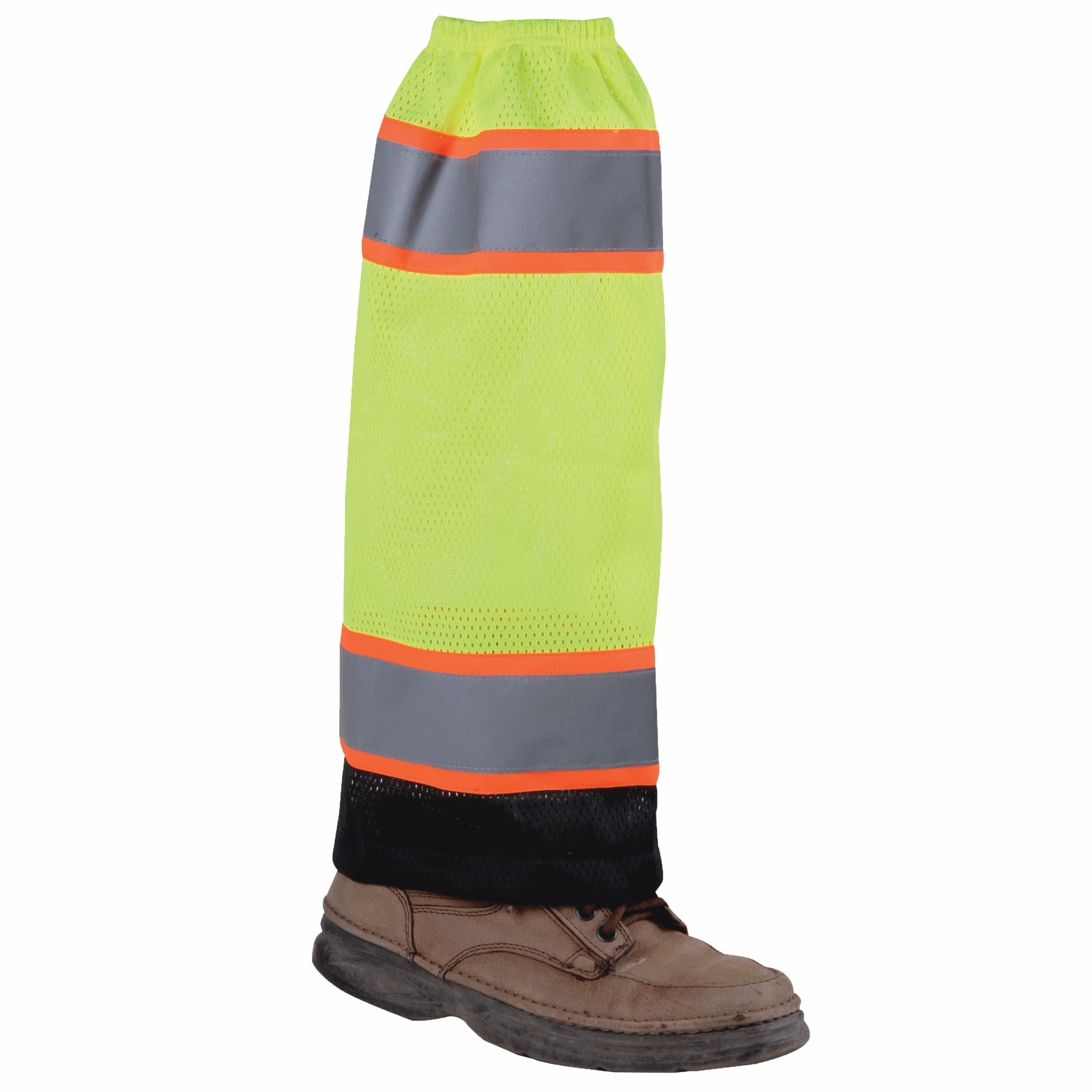 Lime Mesh High Viz Gaiters
