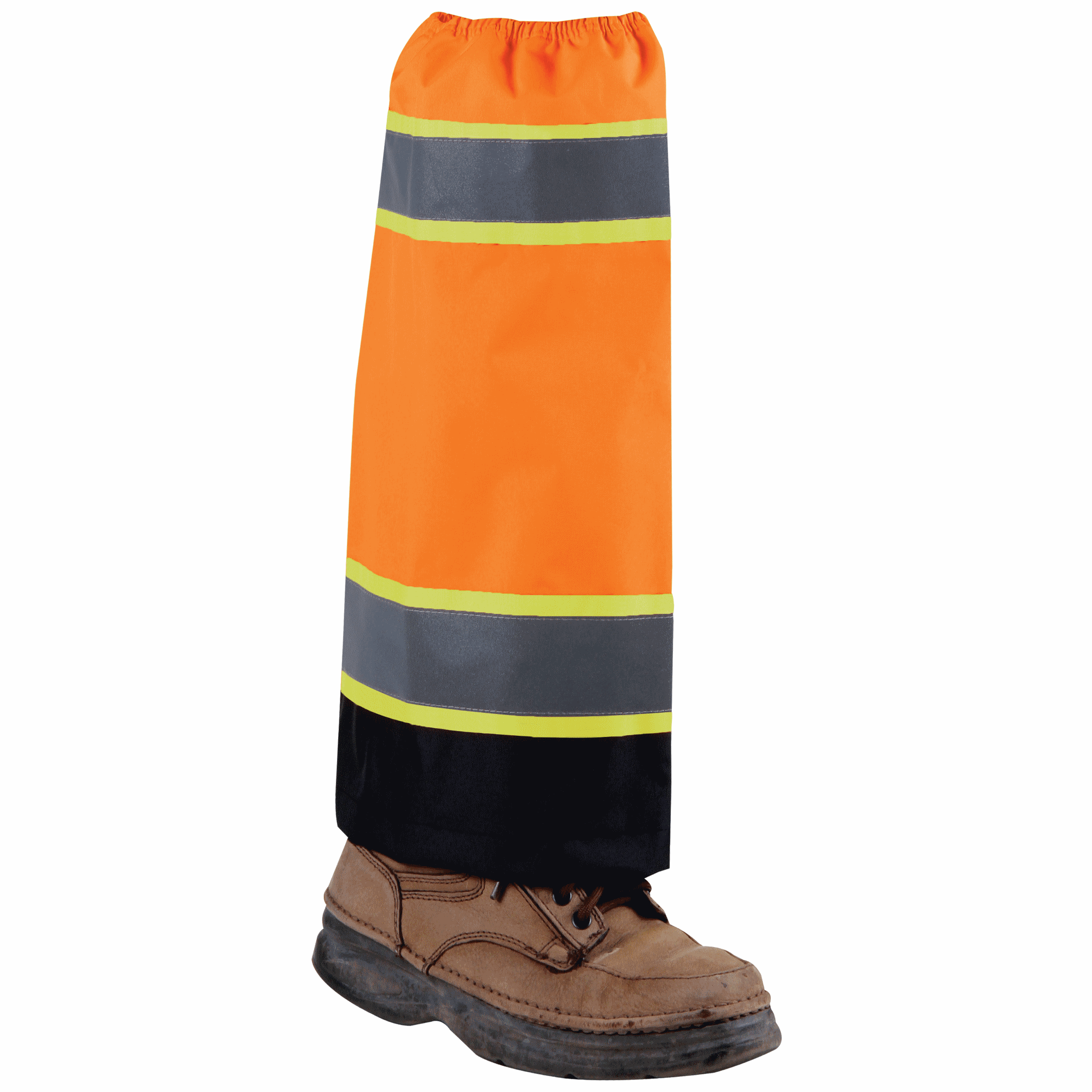 Orange Waterproof High Viz Gaiters