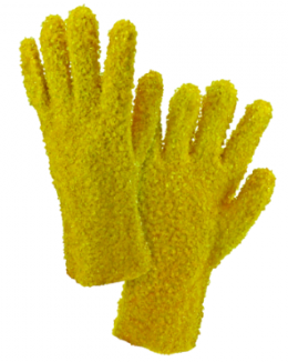 West Chester Yellow PVC Chip Coated Jersey Lined Rough Grip Chemical Coated Gloves
