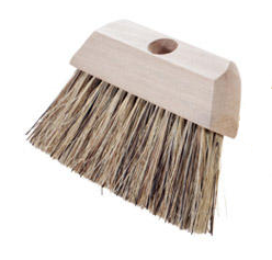 "Magnolia Brush 6-1/4"" Union Fiber Roof & Tar Roofers Brush"