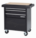 Waterloo Specialty Series 3-Drawer Project Center - Black