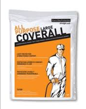 LARGE ALL PURPOSE PROFESSIONAL PROTECTIVE COVERALL
