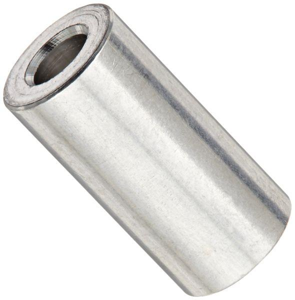 Quot diameter round stainless steel spacers available at
