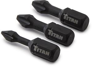 Titan 3pc. 1in Impact Bit Set