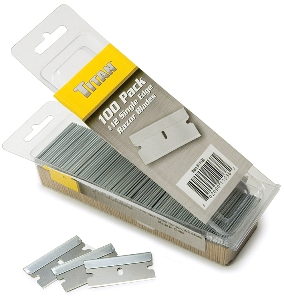 Titan 100 pc. #12 Single Edge Razor Blades