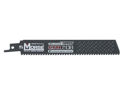 MK Morse 4 x 1 x 8TPI CTR Carbide Tipped Reciprocating Saw Blade