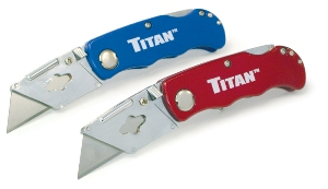 Titan Folding Utility Knife - Twin Pack