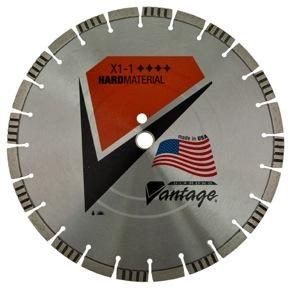 "14"" x .125"" x 20mm Diamond Vantage: LZX1- 1 Preformance Blade- for Hard Materials"