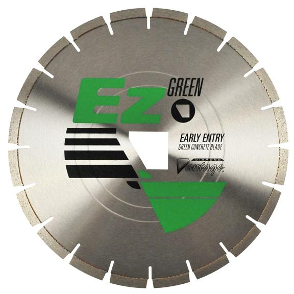 "5"" x 0.080"" Diamond Vantage: EZ100 Green Series Saw Blade for Early Entry"