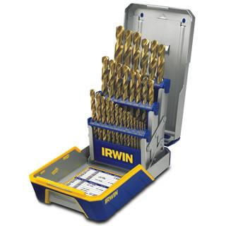 Irwin 29 Piece Titanium Metal Index Drill Bit Set