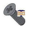 Phillips Flat Head Steel Black Oxide Finish Machine Screws
