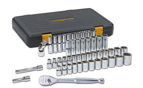 "GearWrench 49pc. 1/2"" Drive 12 Point SAE & Metric 120XP Deep & Standard Socket Set"