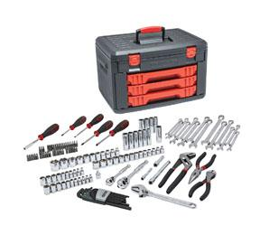GearWrench 143pc. General Purpose Tool Set With Mixed Drive Sockets