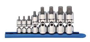 "GearWrench 8pc. 1/4"", 3/8"", & 1/2"" Drive Universal Stubby Triple Square Socket Set"