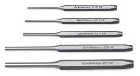 GearWrench 5pc. Pin Punch Set
