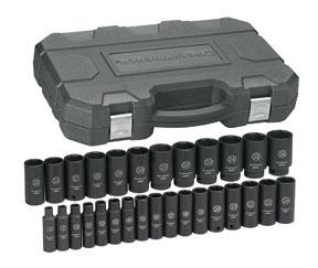 "GearWrench 1/2"" Drive 29pc. 6 Point Metric Deep Impact Socket Set"