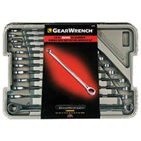 GearWrench 12pc. Metric XL GearBox Ratcheting Wrench Set