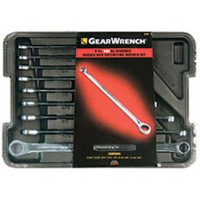 GearWrench 9pc. SAE XL GearBox Double Box Ratcheting Wrench Set
