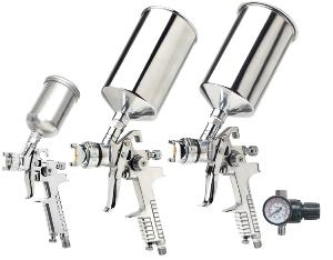 Titan 4pc. HVLP Triple Setup Spray Gun Kit