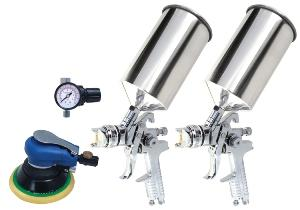 Titan 4pc. HVLP Dual Setup Spray Gun Kit