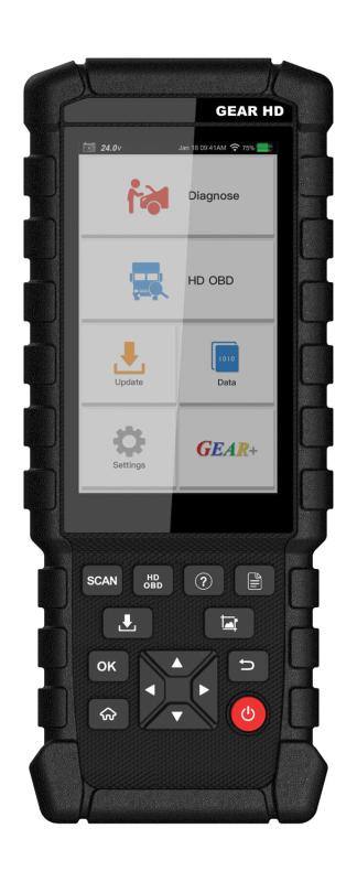 LAUNCH Gear HD System Detect Diagnosis Code Reader