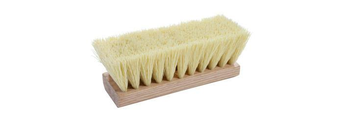 Magnolia Brush Cream Plastic Roofers Brush (No Handle)